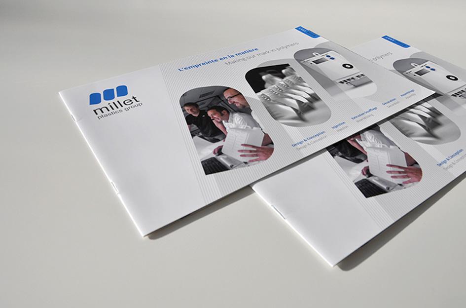 MILLET PLASTIC Group - Plaquette corporate Industrie