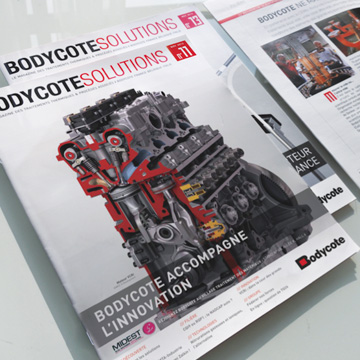 Communication B2B – Print - Bodycote Solutions